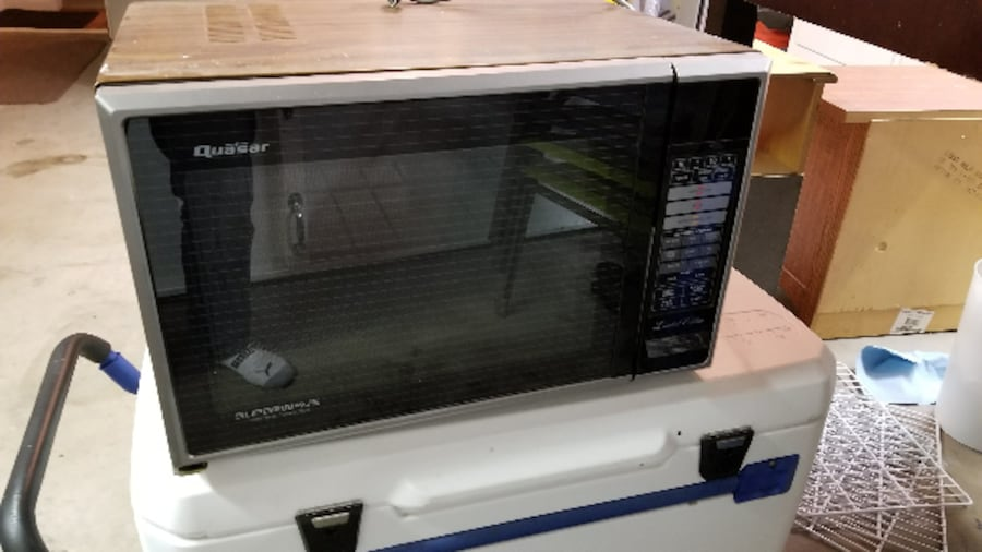 Sold Microwave And Convection Oven Quasar Superwave In