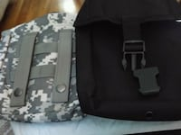 New Tactical Pouches Black and ACU CAMO Roanoke