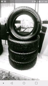4winter tires,,.. Laval, H7T 2B2