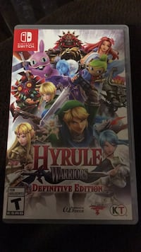 Hyrule Warriors  Nintendo Switch game Vancouver, 98665
