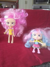 two pink and blue dressed dolls Laval, H7W 2R8