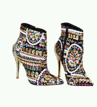 Womens sequined booties - REDUCED PRICE!!!! Winchester, 22601