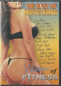 dvd WOMEN of Fitness The Best of Musclemag DVD BRAND NEW with FREE SHIPPING produced by Robert Kennedy copyright 2004 Canusa Products Prime Time Video Production services  Women of Fitness - The Best of MuscleMag   Decsription from the back cover of this  581 km