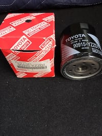 Two Factory new Oil filter for Toyota and Lexus vehicles for $5 New York