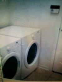 white front-load washer Tampa, 33634