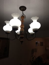 Black and white uplight chandelier St Catharines, L2M 6Y8