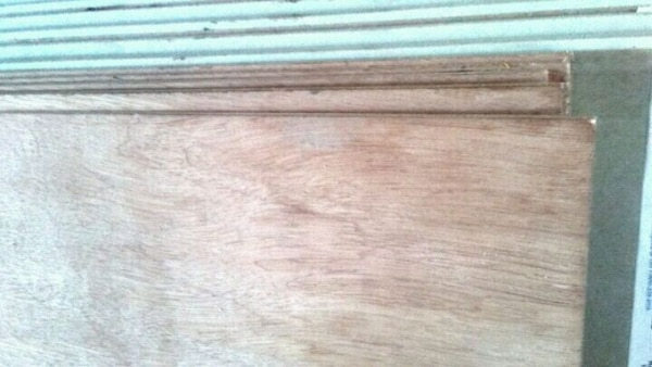 "Premium plywood underlayment4' × 8' ×1/8"" 5 sheets"