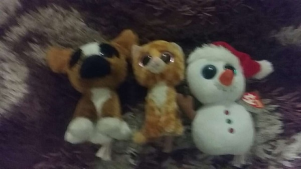 3 beanie boos 3 for $25 or $5 for each
