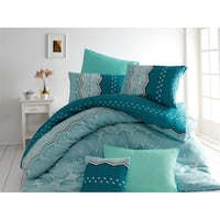 blue and white bed sheet set London