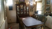 Beautiful  table n 6 chairs AND China cabinet  American Canyon, 94503