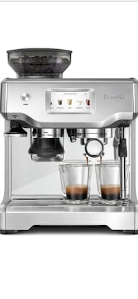 Breville Barista touch automatic espresso machine   London, N5V 3W4
