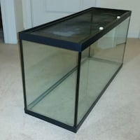 black metal framed glass pet tank Toronto, M6G