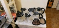 6 12 Cups Coffee Carafes  and 2 Permanent Filters Suitland-Silver Hill, 20746