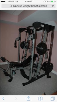 Smith machine squat rack home gym  Hamilton, L8W 3A1