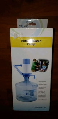 Portable water pump $8