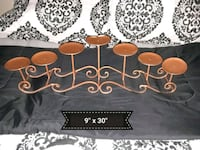 Candle Holder Iron Decor  Youngsville, 70592