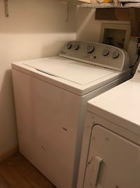 1 washer and 2 dryers