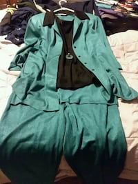 $10.   Jacket,  tank,  necklace,  and pants Albany, 97322
