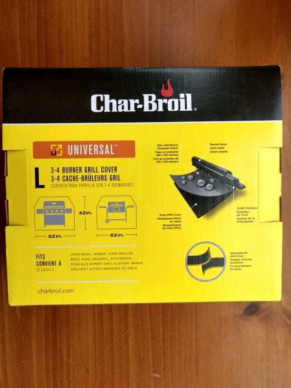 Grill cover -new in box 1