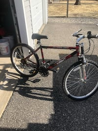Black and red hard tail mountain bike Forked River, 08731
