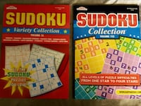 Sudoku and Super Sudoku books - price for both  Calgary, T3B 1A1