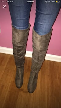 Suede High knee boots  Royal Oaks, 95076