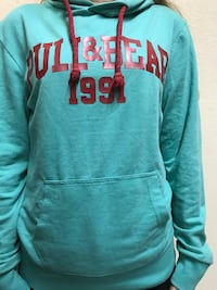 Pull and Bear Nil yeşili sweatshirt,hoodie