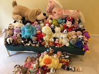 Extra Large FAO Schwarz Patrick the Pup & 90+ Friends Tysons