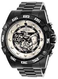 Authentic Invicta Stormtrooper Men's watch- Ultimate Holiday Gift! Bernardsville, 07924