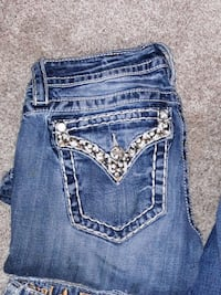 Miss Me jeans boot cut size 26 asking 45 obo Anchorage, 99503