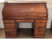 Cabinet and roll top desk Sherwood Park, T8B 1C6