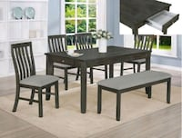 Crown Mark, Nina Gray Dining Room Set Glen Burnie, 21061