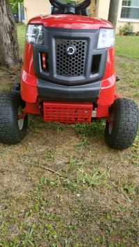 red and black ride on mower Seffner, 33584