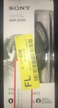 SONY Sports In-ear Headphones Knoxville, 37918