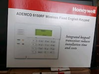 Honeywell wired keypad