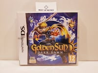 Golden Sun 3 Dark Dawn (Precintado)