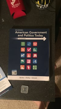 American government and politics today text book