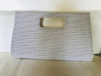 Brand new clutch black and White Purse  Laurel, 20724