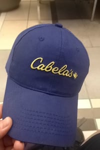 Blue Cabelas Hat