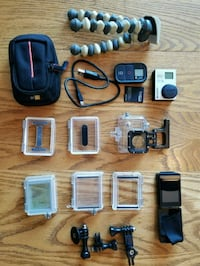 GoPro Hero3 black edition action camera set Arlington