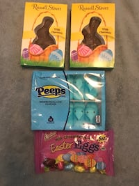Candy / chocolate peeps - all for $3 Sterling, 20164