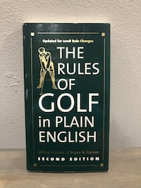 The Rules of Golf in Plain English Pickering