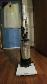 black and gray Bissell upright vacuum cleaner Windsor, N9A 2K4