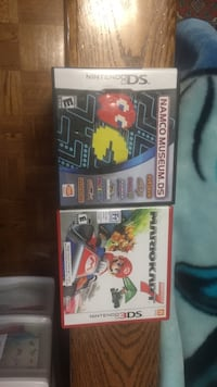 Two nintendo ds game cases King, L7B 1C8