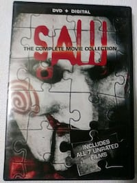 Saw the complete movie collection dvds