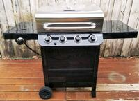 New Condition,  4 burner gas grill with side burner very clean. Niceville