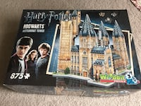 Harry Potter Hogwarts Astronomy tower puzzle box