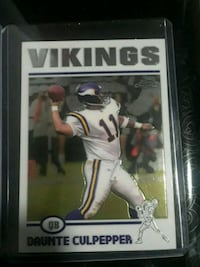 Topps Chrome Minnesota Vikings Daunte Culpepper collectible card Snellville, 30039