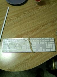 white and gray corded computer keyboard Revere, 02151