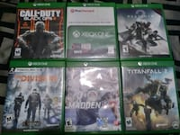 Xbox one games Waterbury, 06710